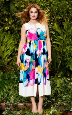 Lela Rose for Lane Bryant http://stylishcurves.com/lane-bryants-lela-rose-plus-size-collaboration-is-so-feminine-and-sweet/