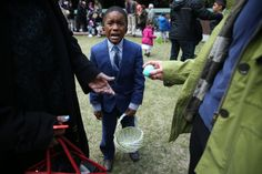 Apr 6, 2015 MICHELLE V. AGINS/THE NEW YORK TIMES Happy Easter . . . Eventually Judah Turnbull, 6, came up empty at an egg hunt in Greenwich Village, but another child's father provided a prize to save the day.