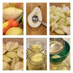 How to Can Pears