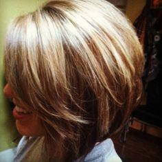 #bob #haircut #highlights  ♥