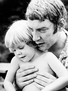 Keifer Sutherland with his father, Donald Sutherland.