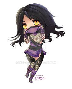 Mileena from Mortal Kombat X by Senhoshi on DeviantArt