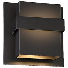 A multi-dimensional and versatile design, the Modern Forms Pandora LED Indoor/Outdoor Wall Sconce fits all of your lighting needs in its encased, high output LED light source. Features an aluminum sculpted box with a tiered design that is hand finished to showcase its craftsmanship. Provides luminous up and down light with 50,000 hours of rated life.