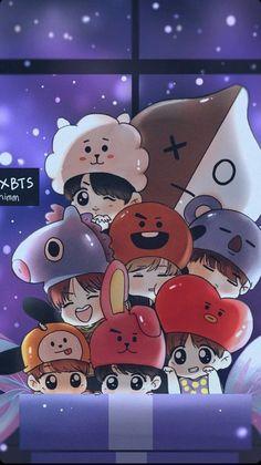 Read Capítulo 05 from the story Mi pack de BTS by with reads. army, k-pop, bts. Bts Chibi, Anime Chibi, Anime Art, Bts Lockscreen, Foto Bts, Bts Taehyung, Bts Bangtan Boy, Namjoon, Bts Jimin