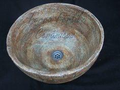 Bacha Ceramica Artesanal, Decoracion En Baños, Jaboneras - $ 1.100,00 en Mercado Libre
