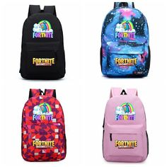 eb39a328c3  studentfashionbags 14 colors Fortnite unicorns Backpacks