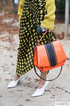 Outside Lanvin / Paris Fashion Week SS18