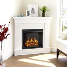 Top 5 Corner Electric Fireplace-TV Stands Under $500 What are the Best Electric Fireplace Units that Can Fit in a Corner, Hold a Flat Screen TV, Heat a Room and Cost Less than $500?