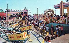 Vintage Palisades amusement park rides, NJ