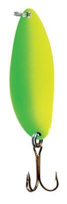 Bass Pro Shops Flashy Times Spoon - 2/5 oz. - Lime/Chartreuse