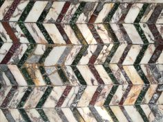 opus sectile polychromic marble pavement - from the Baths of Caracalla, Rome