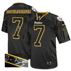 a144694c626 Ramon Foster Men s Elite Lights Out Black Jersey  Nike NFL Pittsburgh  Steelers