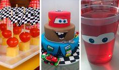 Festa Carros Disney - inspirações para uma festa linda e divertida. Comidinhas, doces, bolos, decoração, lembrancinhas, atividades, entre outros.