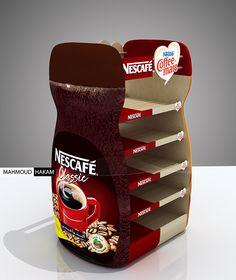 Nescafe Dolce Gusto Krups Custom Exhibits Gondola