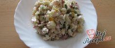 Těstovinový salát ze základní školy Risotto, Potato Salad, Grains, Rice, Potatoes, Ethnic Recipes, Food, Potato, Essen