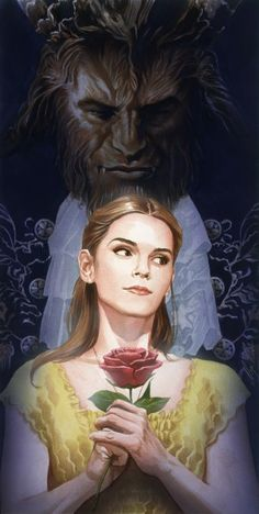 beauty-and-the-beast-alex-ross-poster