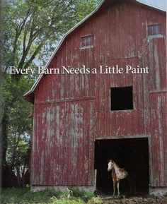 Every Barn Needs A Little Paint!