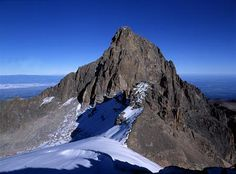 Mount Kenya. Climb it with us!