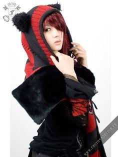 Kitty scarf-hood