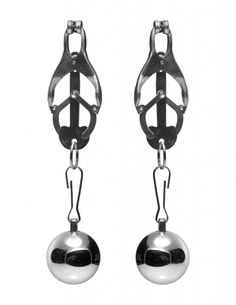 thrillsfulfilled.com - Master Series Deviant Monarch Weighted Nipple Clamps
