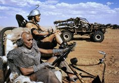 Tina Turner as 'Aunty Entity' in Mad Max Beyond Thunderdome