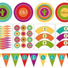Even if Cinco de Mayo will just be taco night at home, you can dress things up a little with this collection of free Cinco de Mayo printables. Happy fiesta!