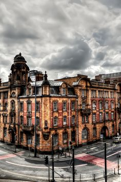 London Road Fire Station, Manchester.