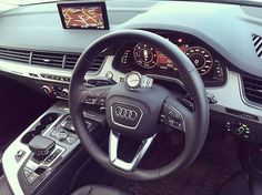 The interior looks even better with the AP on the steering wheel.  By: @champsg  Follow: @audiengine @audipixs @audi_regram @food4audis
