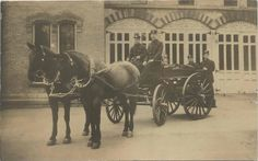 Fire Station on LaGrave in 1907 Station 1, U.s. States, Old Photos, Fire, History, Painting, Ebay, Old Pictures, Historia