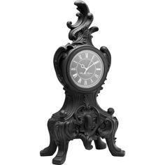 Orologio da tavolo Boudoir nero by KARE Design