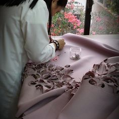 Fabric manipulation and textile design - amazing EZRA Couture