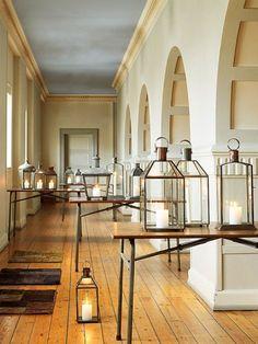 Für warme Lichtreflexe: Glaslaternen von Nordal