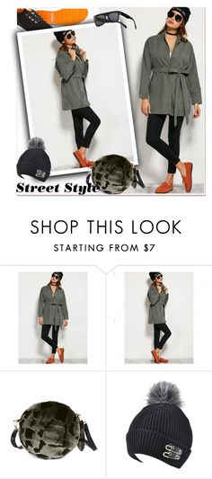 """""""Trench Coat"""" by paculi ❤ liked on Polyvore featuring Kipling"""