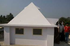 Sri Krishna Pyramid Meditation Center,year of construction : 2012 size : 9ft x 9ft | capacity : 15 persons cost incurred :  75,000 | type of structure : RCC timing : 24x7, open for public use technical support : Ravi Raju, +91 81790 33535 contact : Yelchuri Shekar, mobile : +91 98669 58213 address : Thimmarajupalem http://www.pyramidseverywhere.org/pyramids-directory/pyramids-in-andhra-pradesh/coastal-andhra/prakasam-district