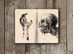 The Impressive Moleskine Sketchbook of Ivan Meshkov