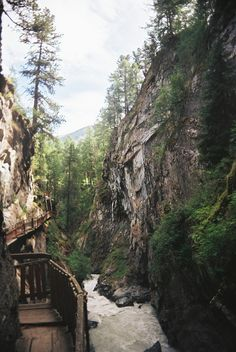 Canyon Path, Zermatt, Switzerland  photo via over