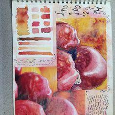 Experiments with media Gcse Art Sketchbook, Sketchbook Ideas, Sketchbooks, Experiment, Natural Forms Gcse, No Wifi Games, Runner Games, Still Life Drawing, A Level Art