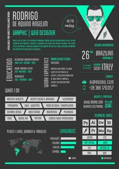 awesome graphic design resumes