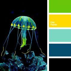 Color Palette Bright, sunny, summer palette is suitable for decoration of garden house, fence, Color Palette For Home, Neon Colour Palette, Color Schemes Colour Palettes, Color Combos, Design Seeds, Color Balance, Balance Design, Design Graphique, Turquoise Color