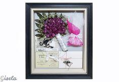 Gisela - Αποξήρανση ανθοδέσμης Wedding Bouquets, Frame, Decor, Picture Frame, Decoration, Wedding Brooch Bouquets, Bridal Bouquets, Wedding Bouquet, Wedding Flowers