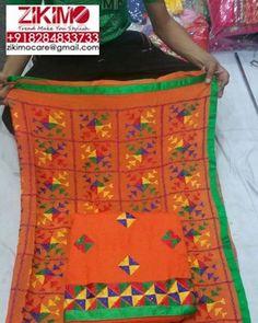 Simply Get the Punjabi Look in this Phulkari suit http://ift.tt/1XF6AMc - http://ift.tt/1HQJd81