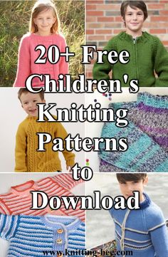 Free Knitting Patterns for Children Cardigans Patterns ⋆ Knitting Bee free knitting patterns) Free Childrens Knitting Patterns, Baby Cardigan Knitting Pattern Free, Sweater Knitting Patterns, Knitting For Kids, Knitting Designs, Free Knitting, Baby Knitting, Knitting Ideas, Kids Patterns