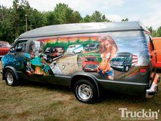 custom vans   Van Nationals 2010 Custom Van