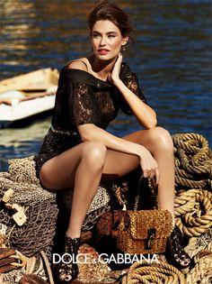 Photographer: Giampaolo Sgura  Model: Bianca Balti  Hair: Davide Diodovich  Make up: Andrea Costa  Jewellery_ Dolce&Gabban...