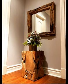 Sustainable Furniture, Sustainable Design, Mirror Panels, Entrance Ways, Wood Mirror, Salvaged Wood, Luxury Living, Gta, Wall Hangings