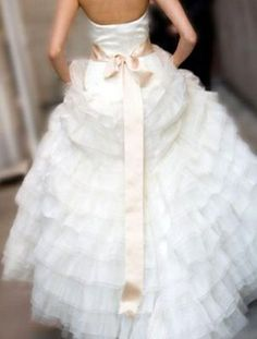 Beautiful wedding gown picture by Amber Delesie Photography by aryssayve