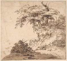 A Group a Trees, attributed to Anthony van Dyck