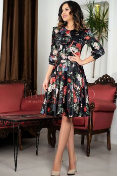 Dresses With Sleeves, Long Sleeve, Casual, Floral, Fashion, Cute Dresses, Embroidery, Moda, Sleeve Dresses