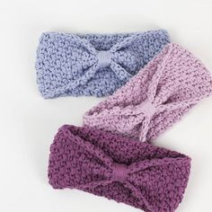 Day 34 Cute crochet headbands Link to the pattern inhellip