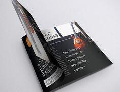 Free Black Square Brochure Mockup Set in 7 Angles